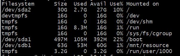centos vm storage